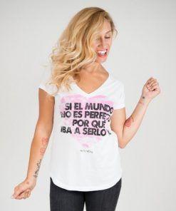 Camiseta mundo perfecto