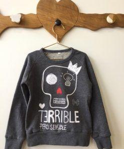 sudadera-baby-terrible-pero-sensible-gris