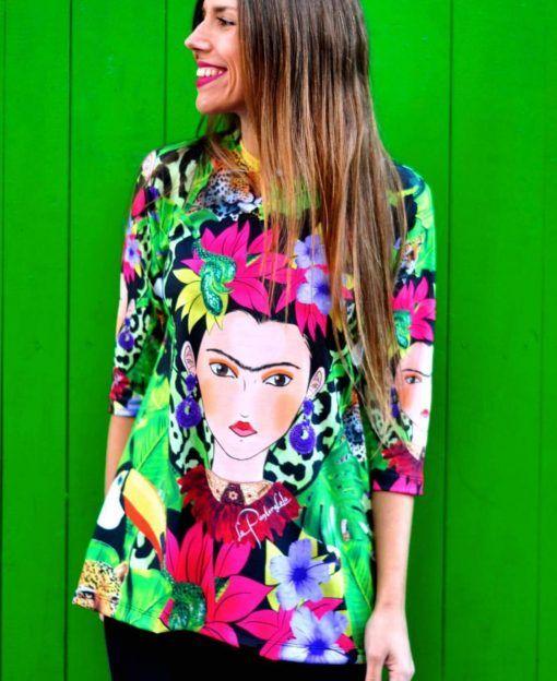 camiseta-frida-selva